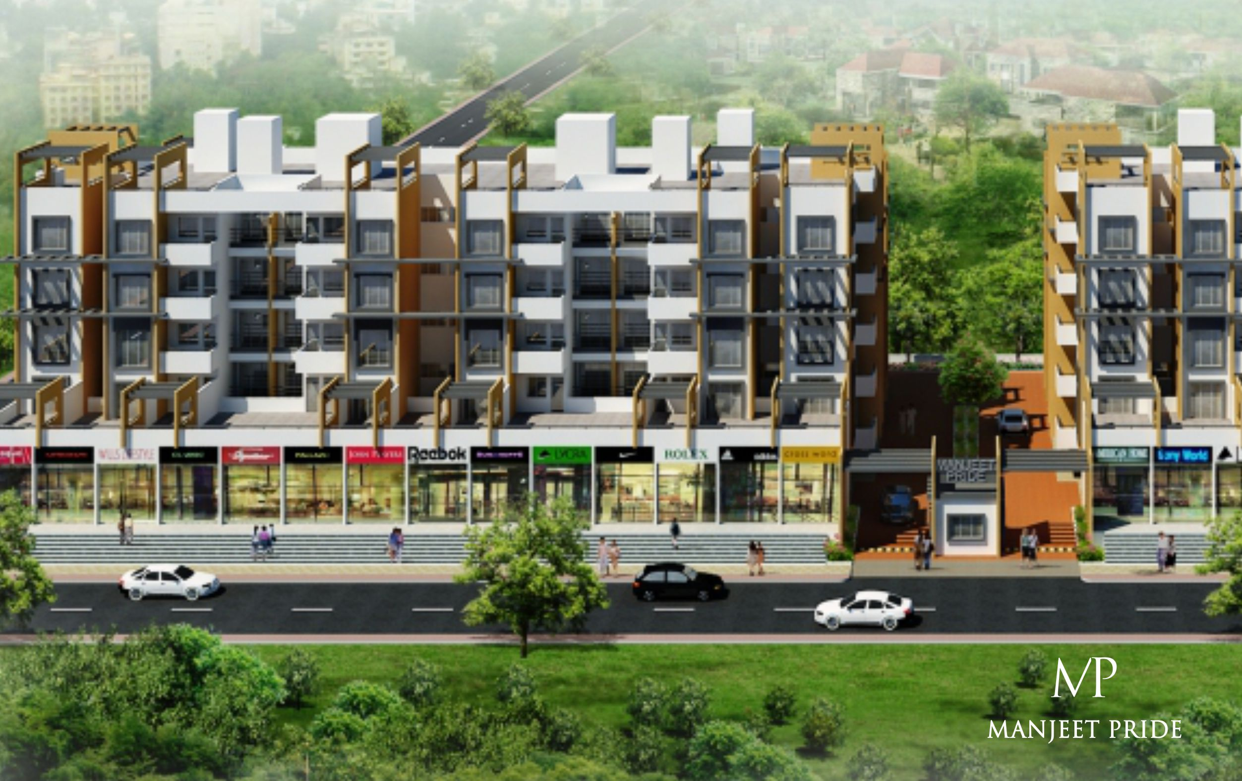 perfect investment best pride group 2bhk 3bhk flats for sale in waluj aurangabad
