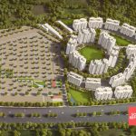 birds eye 3d south republic town planning approved top location at satara parisar road birds eye view good investment