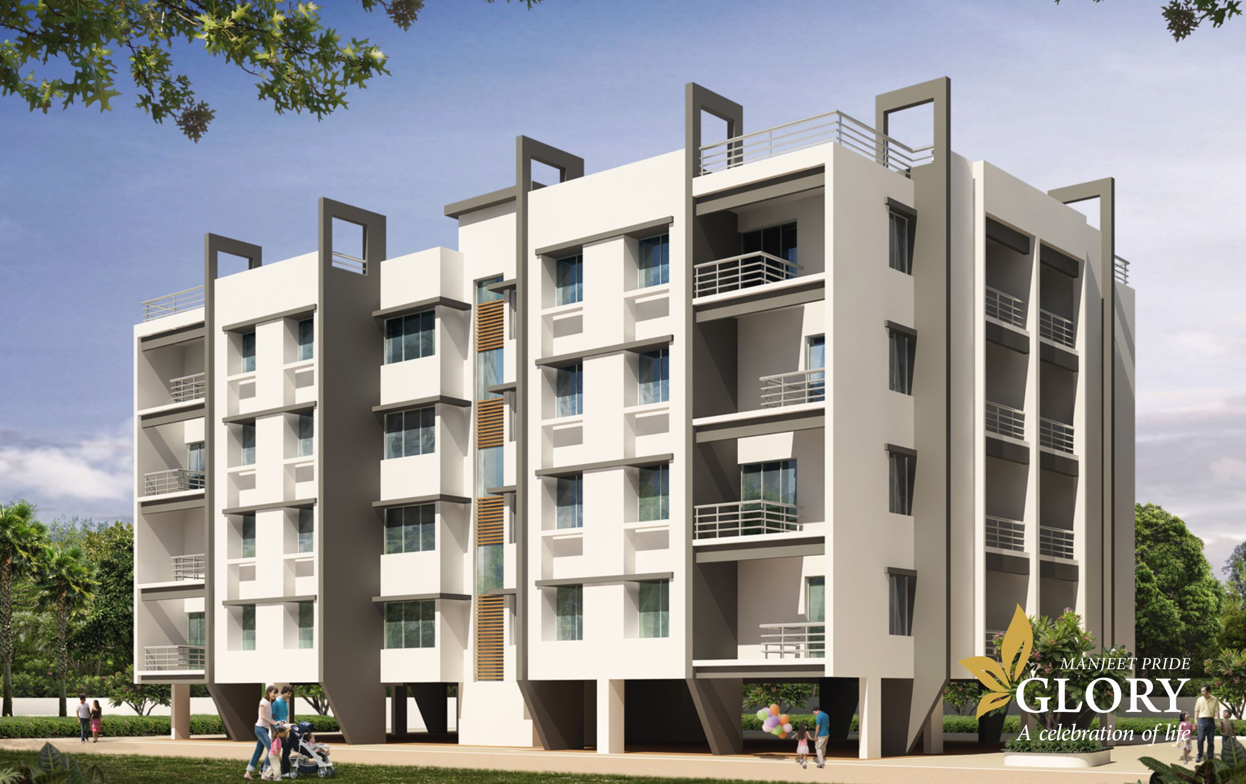 most trusted real estate developer deals prooperty stylish pride glory 1 2 3 bhk flats at near beed by pass aurangabad city