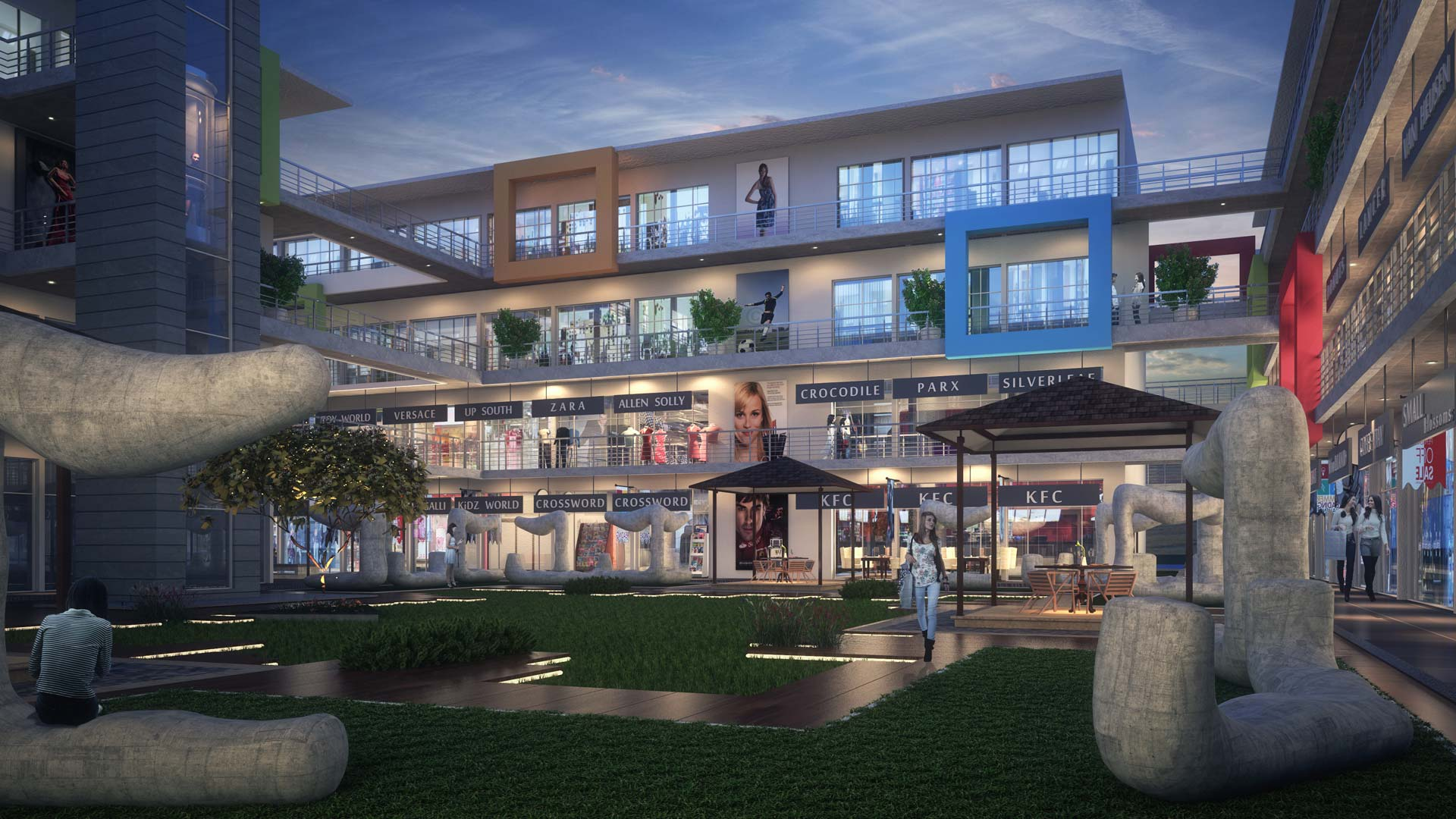 golden city center commercial shops spaces offices at chikalthana pride group best property in aurnagabad