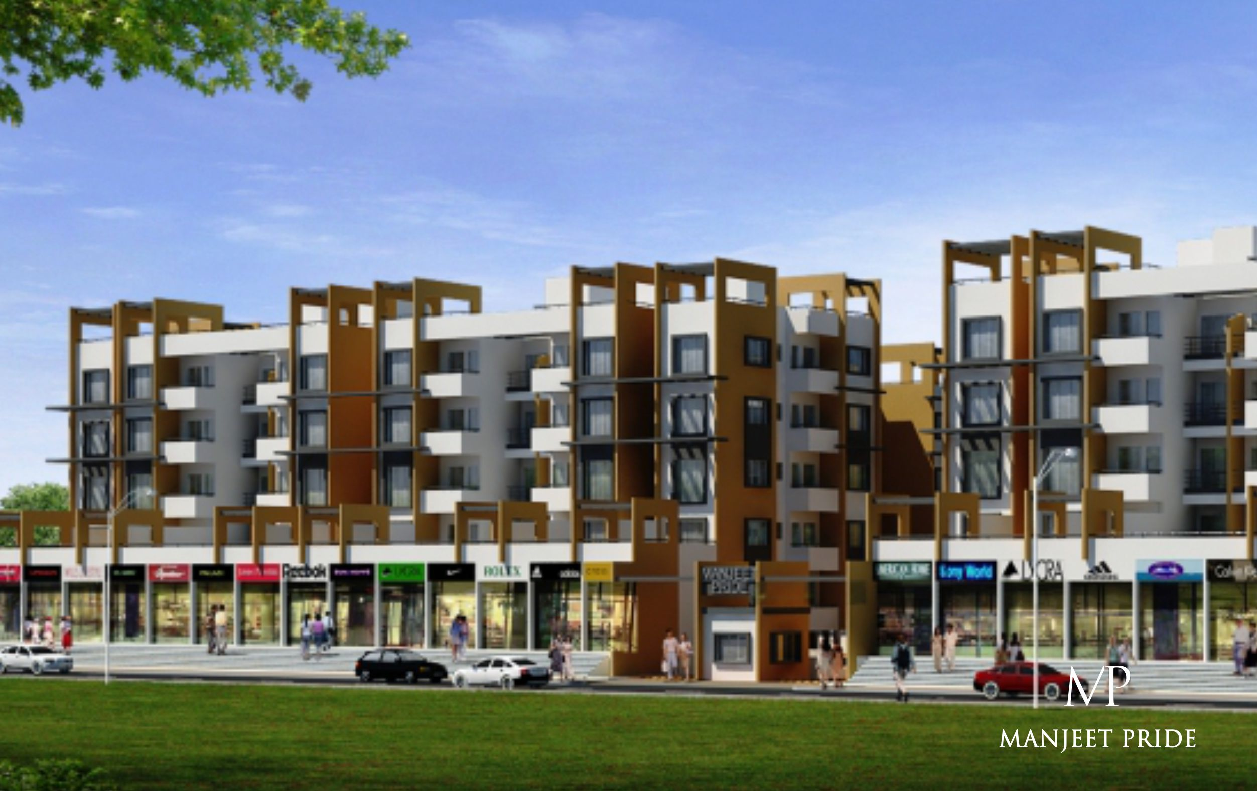perfect property manjeet pride group 2bhk 3bhk flats for sale in waluj aurangabad