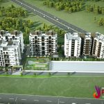 pride phoenix birds eye view top pride phoenix best 2bhk 3bhk affordable homes branded plotted layout at aurangabad
