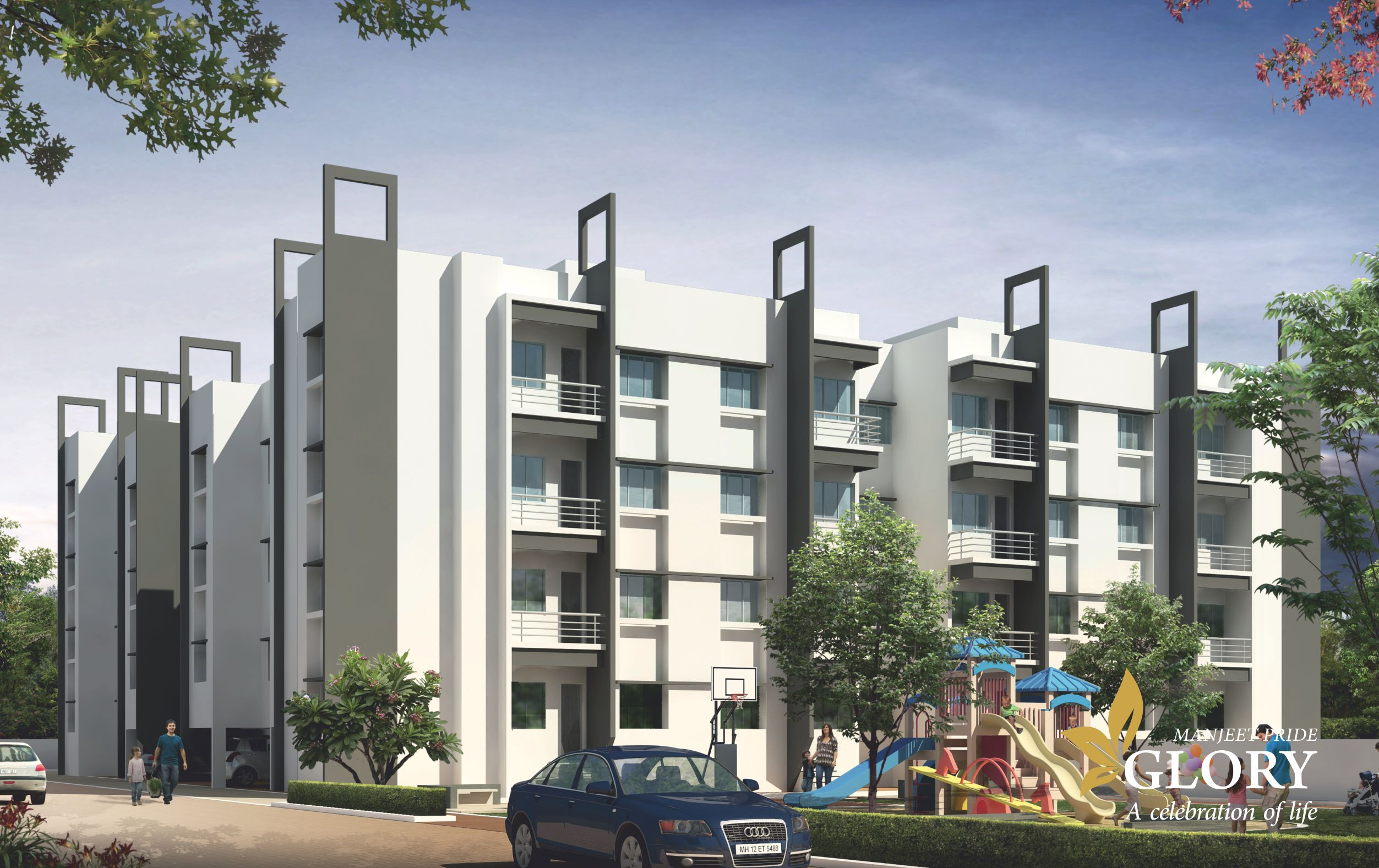 top pride glory 2bhk flats at beedbye pass best best investment property real estate deals aurangabad location