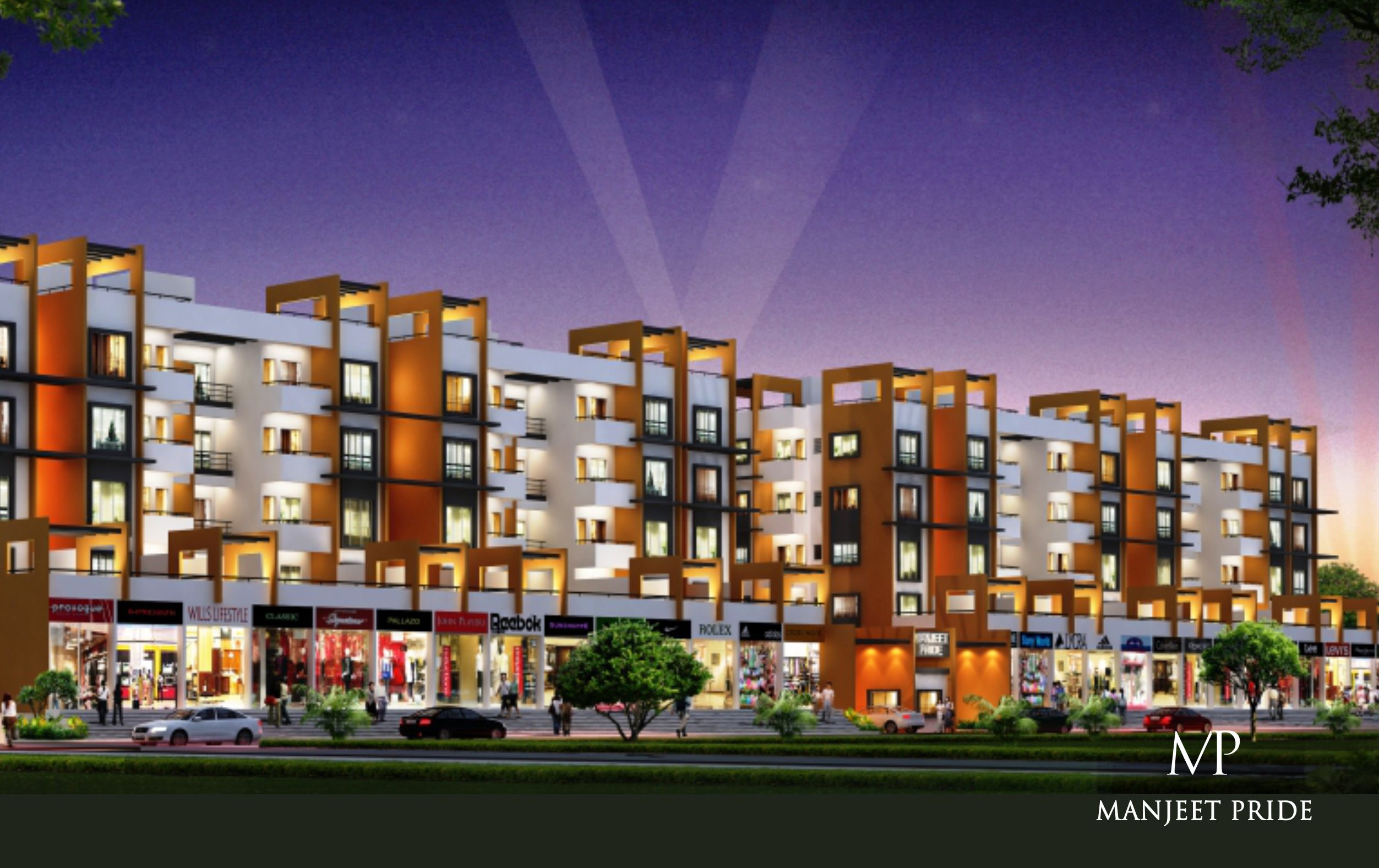 real estate booming sector top pride manjeet group 2 bhk 3 bhk flats waluj aurangabad